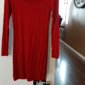 Le chateau xxs red dress.